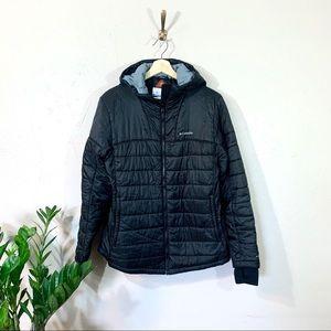 Columbia Omni-Heat Puffer Jacket hooded Black